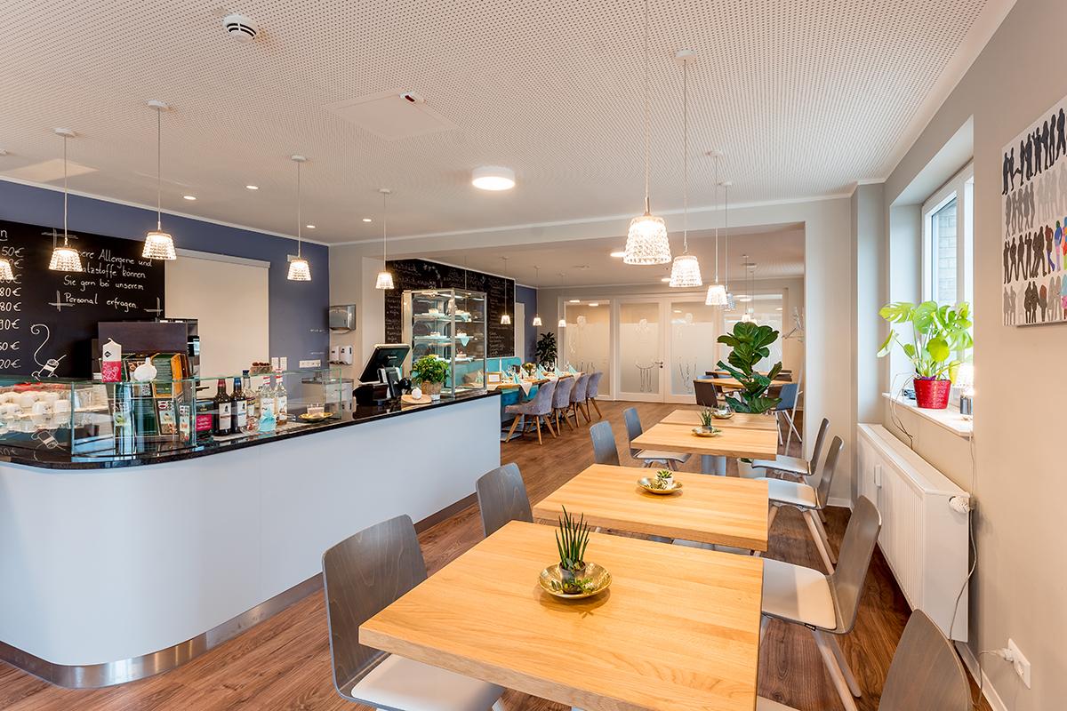 Gastraum Café Gusto Magdeburg